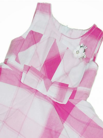 NCC0382202 - Girls Fancy Synthetic Frock