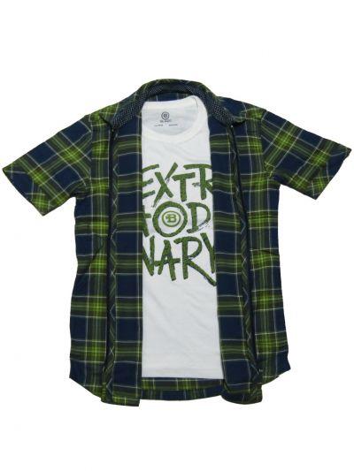 NGB0183987 - Boys Fancy Casual Shirt