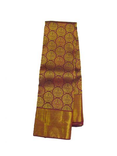 EKM-NHB4395642 - Vivaha Goddess Pure Kanchipuram Silk Saree