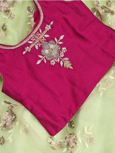 Girls Readymade Fancy Choli - MLC1501449