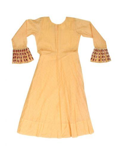 Girls Fancy Long Salwar - MKD0000348