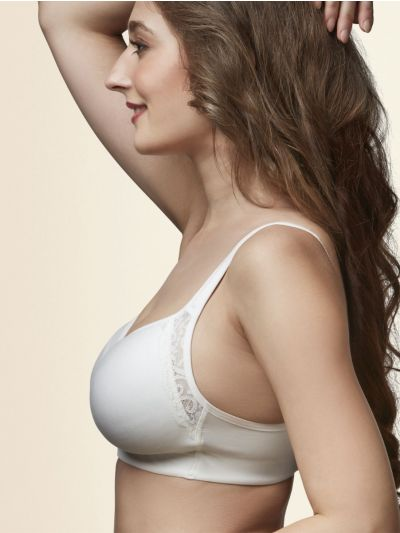 Womens Solid Non Paded Non Wired Bra - NLD6181378