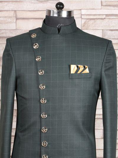 MFB2971139 - Exclusive Silk Jacquard Indo Western Suit