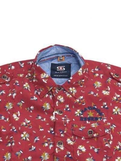 NFD5404444 - Boys  Cotton Shirt
