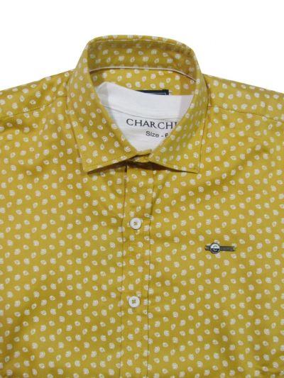 NFE5882885 - Boys Fancy Cotton Shirt