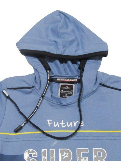 NGB9497965 - Boys Hooded T-Shirt
