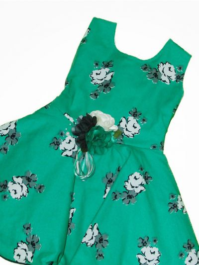 MJC7867759 - Girls Fancy Synthetic Frock