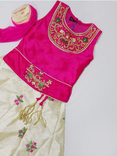MJC7435412 - Girls Ready Made Fancy  Choli