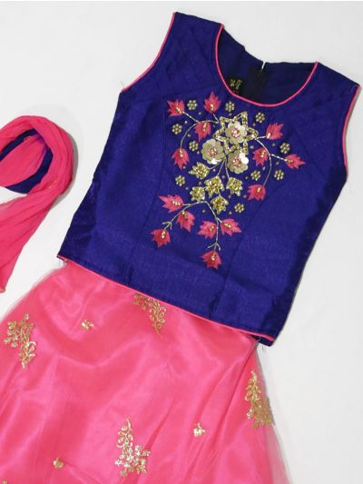 MJC7436987 - Girls Ready Made Fancy  Choli