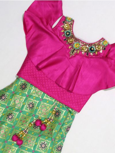 MKC9791517 - Girls Ready Made Fancy  Choli