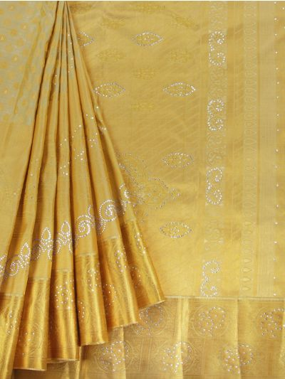 MGB8888957 - Vivaha Wedding Stone work Silk Saree