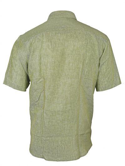 Zulus Festin Men's Linen Half Sleve Shirt - MGA8106283