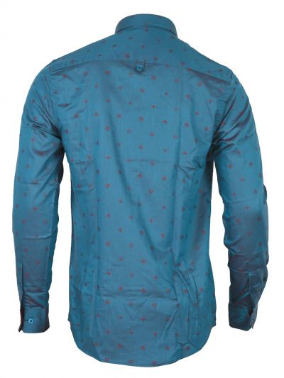 ZF Men's Part Wear Cotton Shirt - MGA8028497