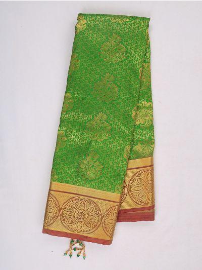 Bairavi Gift Art Silk Stone Work Saree - MIB3567345