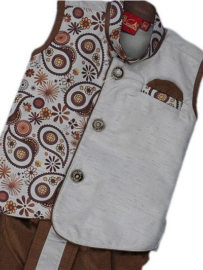 Infant Boys Readymade Dhoti Set - MEA4970891