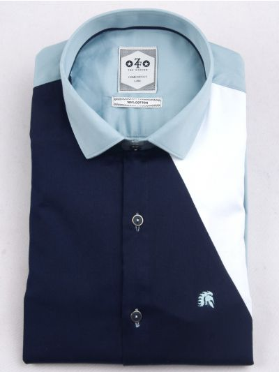 ZF Men's Casual Cotton Shirt-MFB5767693