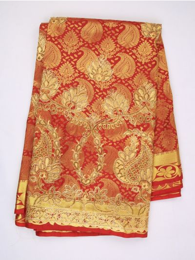 MHC1893470-Banarasi Silk Stone work Saree