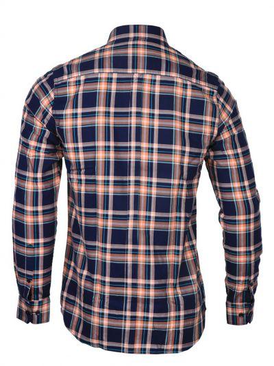 ZF Men's Casual Checks Cotton Shirt - MGA8046092