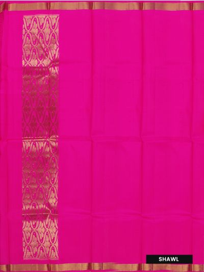 Silk Pavadai Dhavani Material Set - OAC1727964