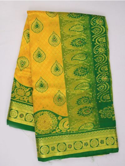 MDC2581403 - Fancy Stonework Art Silk Saree