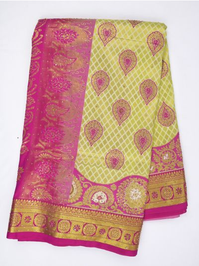 MDC2581399 - Gift Stone work Art Silk Saree