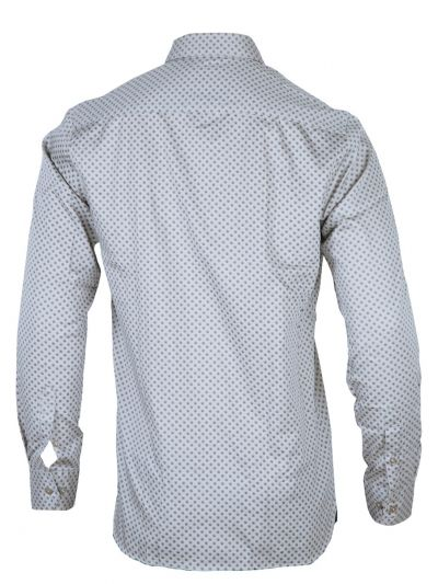 ZF Men's Casual Cotton Shirt - MFB3468216