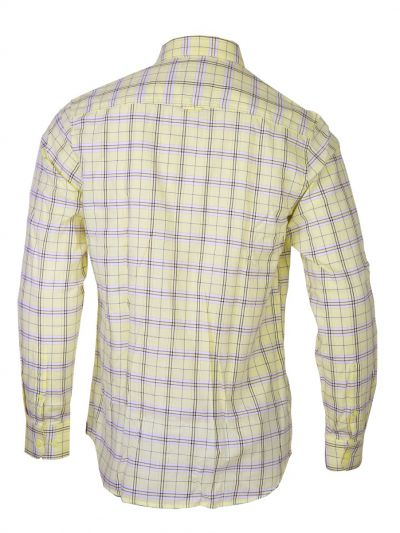 ZF Men's Casual Checks Cotton Shirt - MGA8045162