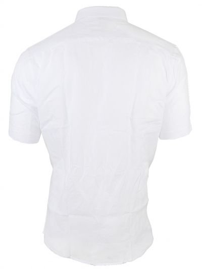 Zulus Festin Men's Linen Half Sleeve Shirt - MGA8100324