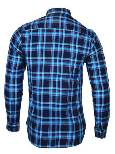 ZF Men's Casual Checks Cotton Shirt - MGA8046086