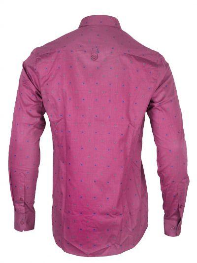 ZF Men's Part Wear Cotton Shirt - MGA8028473