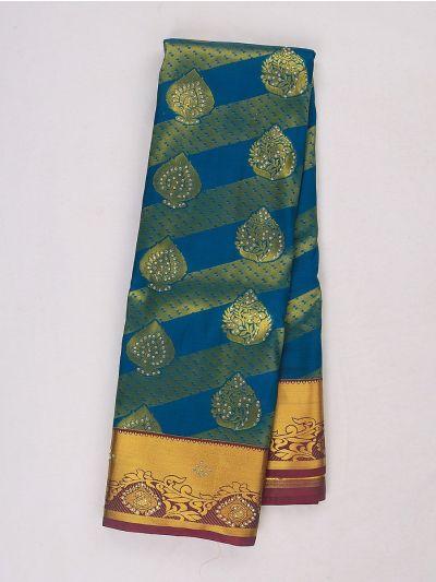 Bairavi Gift Art Silk Stone Work Saree - MIB3567357