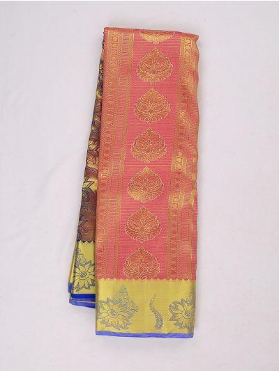 Bairavi Gift Art Silk Stone Work Saree - MIB3567372