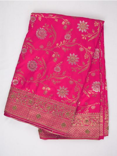 MDD2999363 - Banarasi Silk Stone Work Saree