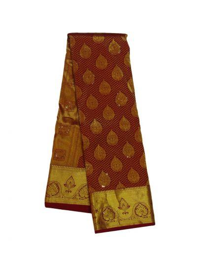 Traditional Stone work Silk Saree - EKM - NED2572540