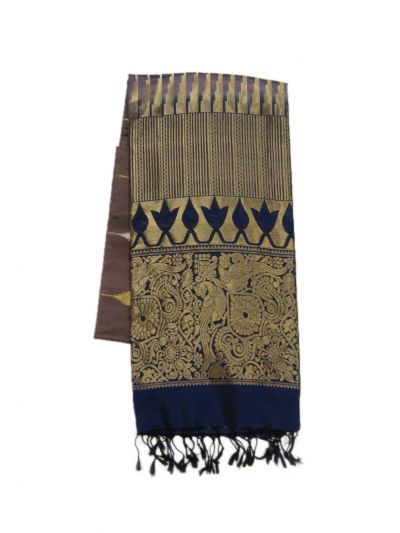 Soft Silk Saree - EKM - NHD5085894