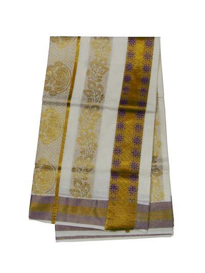 Women's Kerala Traditional Saree - EKM - NIA5808146