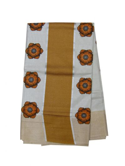 Women's Kerala Traditional Saree - EKM - NEC2239086