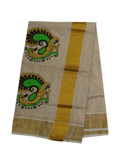 Women's Kerala Traditional Saree - EKM - NIA5809641