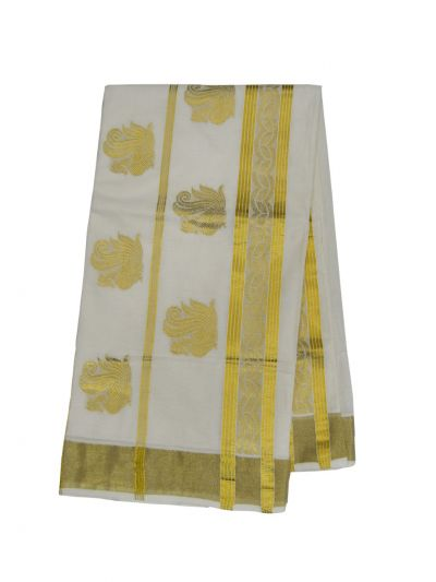 Women's Kerala Traditional Saree - EKM - NIB5934988