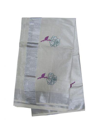 Women's Kerala Traditional Saree - EKM - NLE6552513