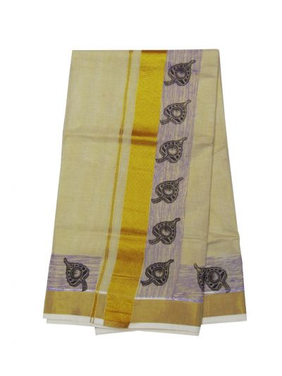 Women's Kerala Traditional Saree - EKM - NLA5016183