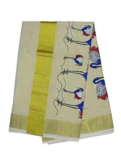 Women's Kerala Saree - NEB1891973-EKM