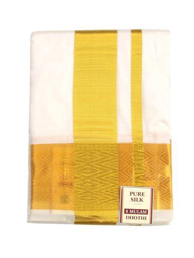 Vivaha Fancy Border Silk Dhoti - ODB2864980