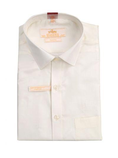 Vivaha Pure Fancy Border Silk Shirt & Dhothi Set - NFD5157144