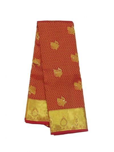 Traditional Silk Stone Work Saree - EKM - NHB4450308