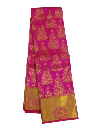 EKM-NHB4450320 - Vivaha Wedding Stone work Silk Saree