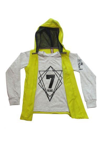 Boys Hoodie Tshirt- EKM