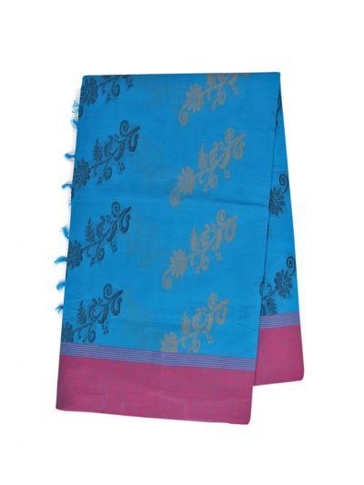 Kanchi Cotton Saree - NLA4538733