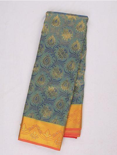Bairavi Gift Art Silk Stone Work Saree - MIB3567391