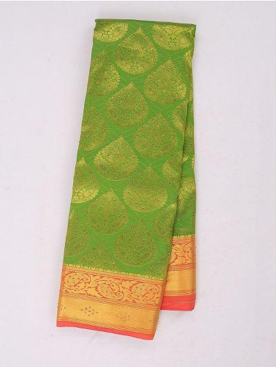 Bairavi Gift Art Silk Stone Work Saree - MIB3567380